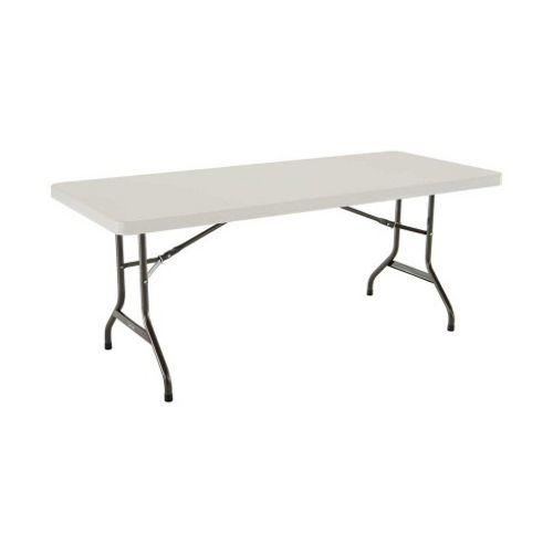 feet height utility folding dp amazon almond table adjustable lifetime tables com