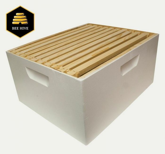 Harvest Lane Honey Brood Hive-box with 10 Frames & Foundations WWBCD-101