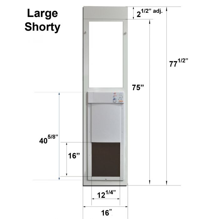 Skip To The Beginning Of Images Gallery Details Description Turns Any Sliding Glass Door Into A Fully Automatic Pet