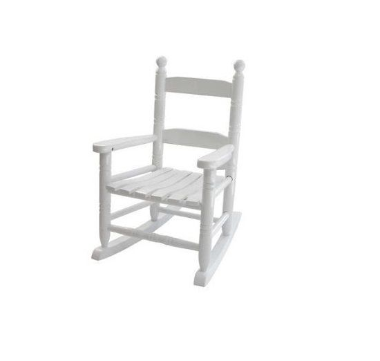 sc 1 st  Rural King & Jack Post White Childrens Rocking Chair KN10W