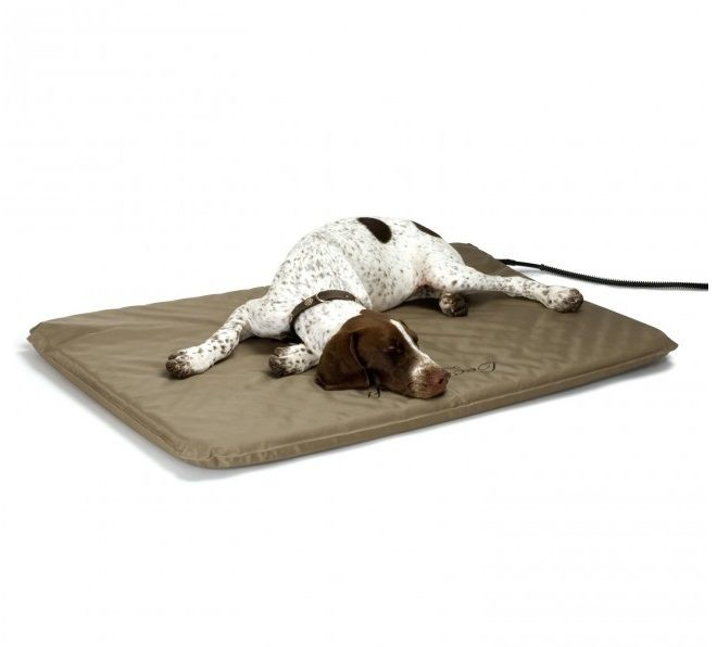 heated soft large lectro bed outdoor k mat pet h beds