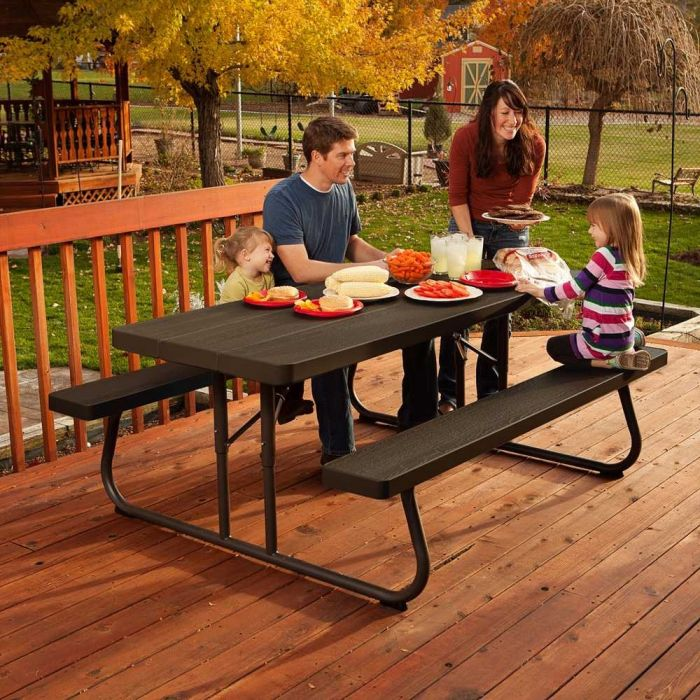 gallery lifetime sport wholesale table bench best club portable with benches bjs decoration