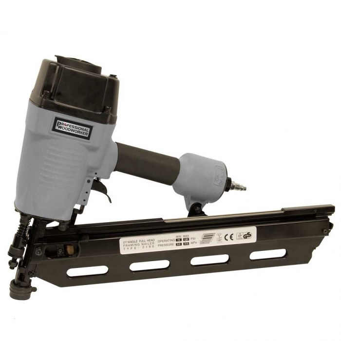 Professional Woodworker 21 degree Full Round Head Framing Nailer 7564