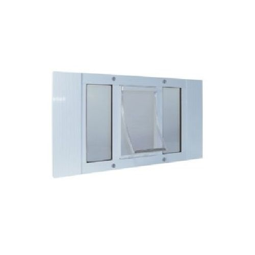 Ideal Pet Products 23 Aluminum Sash Window Pet Door 23swd