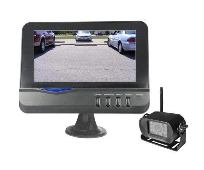 Top Dawg Heavy Duty Bracket Digital Wireless Backup Camera MS901D