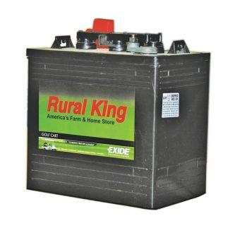 Rural King 6-Volt Golf Cart Battery GC115G on