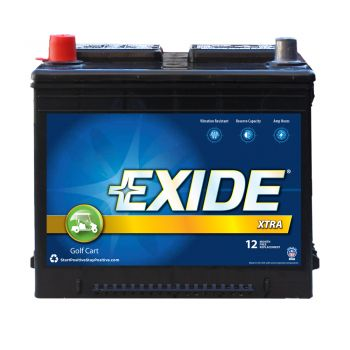 Exide Xtra Golf Cart/Electric Vehicle Battery GC-26 on