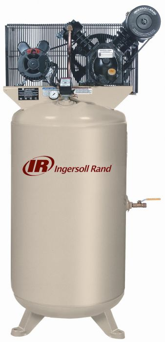 Ingersoll Rand Air Compressor 5hp 80 Gallon 2 Stage 2340N5-V
