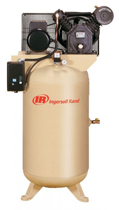 Rural King Air Compressor >> Ingersoll Rand Air Compressor 5hp 80 Gallon 2 Stage 2475n5 V