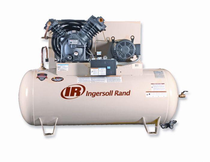 Rural King Air Compressor >> Ingersoll Rand Air Compressor 10hp 120 Gallon 2 Stage 2545e10 V