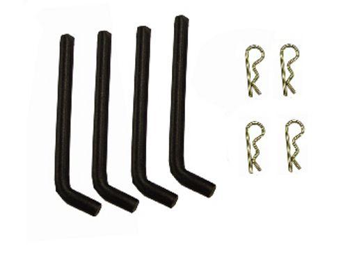 King Kutter Box Blade Shank Pin Set with Hairpins 503501