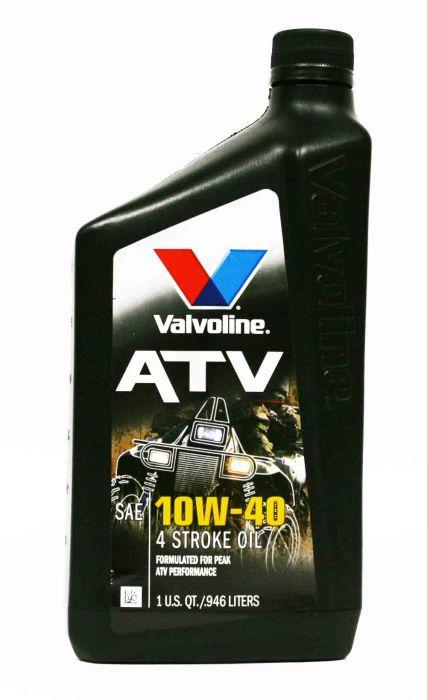 Valvoline ATV 4-Stroke 10W-40 Oil 1 Quart - 817263