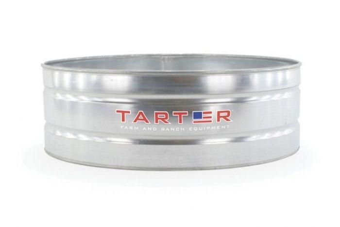 Tarter Round Galvanized Stock Tank 6 Foot x 2 Foot WTR62
