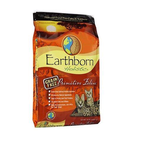 Earthborn Holistic Primitive Feline Grain Free Natural Dry Cat