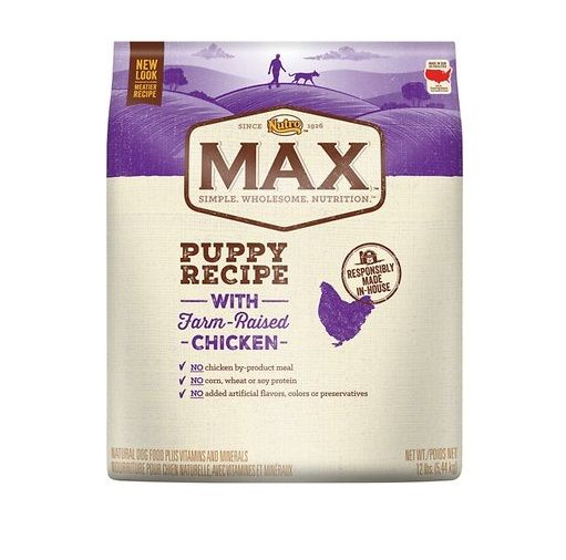 Nutro Max Puppy Natural Chicken Meal Rice Recipe Dry Dog Food