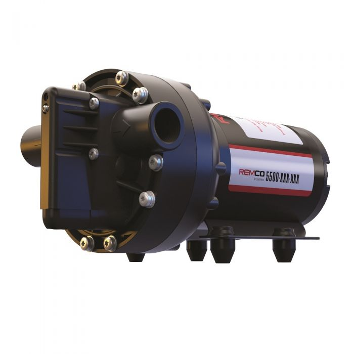 Remco Series 5500 ProFlo 5 3 GPM 12 Volt Demand Diaphragm Pump  9055371E182BSB