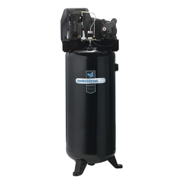 Rural King Air Compressor >> Industrial Air 60 Gallon Lon Oil Lube Stationary Air Compressor 135 Psi C3706056
