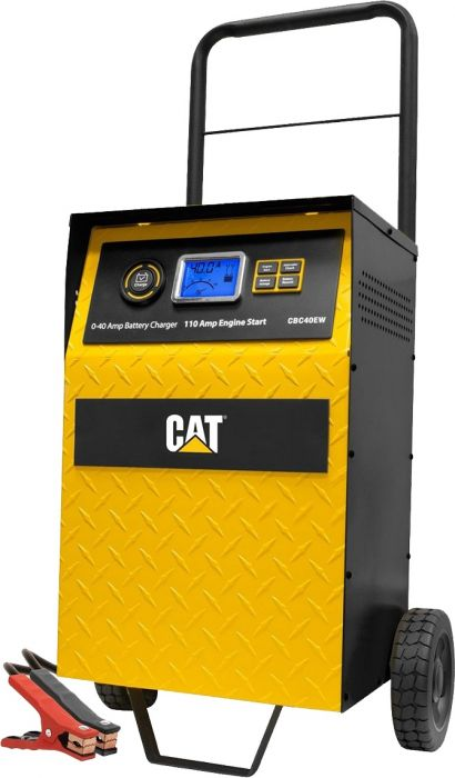 Cat 40 Amp Rolling High Frequency Battery Charger W 110 Amp Engine