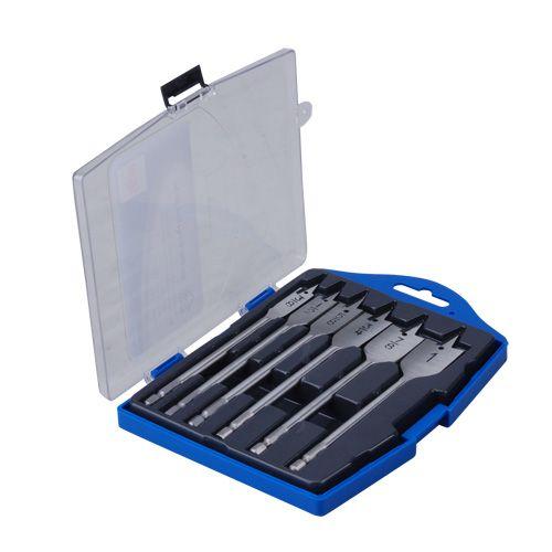 b418cf3ff01 6 Piece Flat Wood Drill Bit Set DBFW6Piece