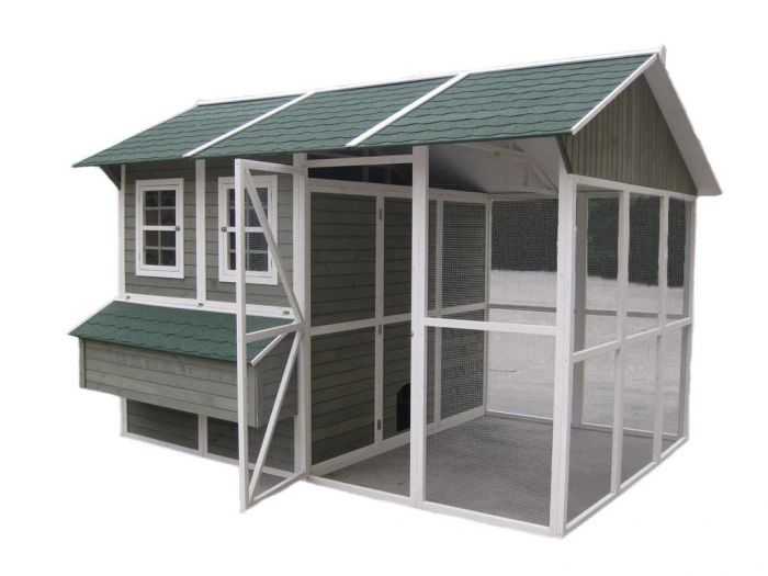 Coops & Feathers Extreme Chicken Barn 9' x 12' x 8' (220-03)