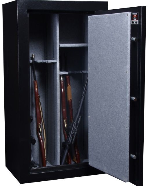 Gettysburg 24 Gun Safe with Electronic Lock and Door 24FGS