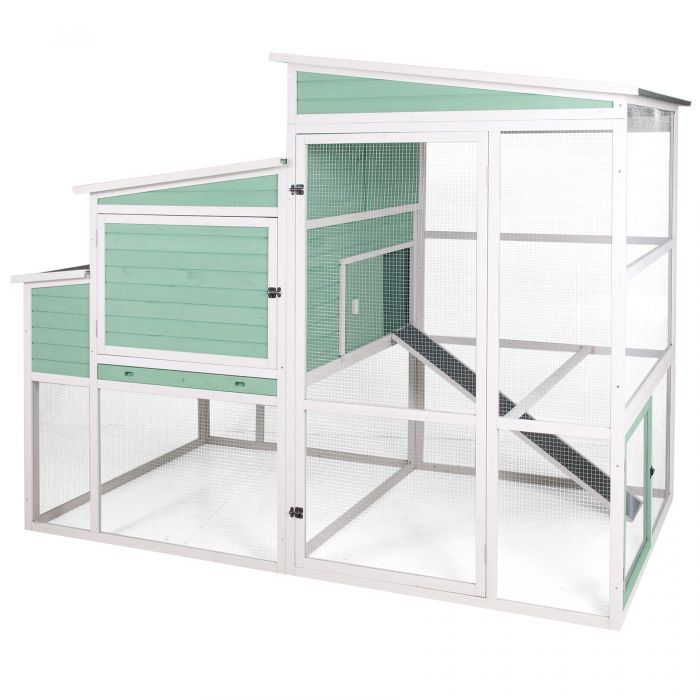 Precision Pet Products Walk In Ranch Chicken Coop 40078