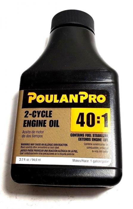 Poulan Pro 2 Cycle Engine Oil Mixture 3 2 oz 952030260