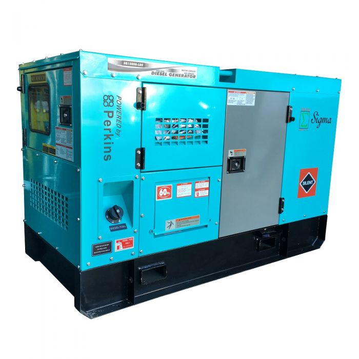 Sigma 15KW Diesel Silent Generator with Perkins Engine and Built-in ATS  SGP15KW