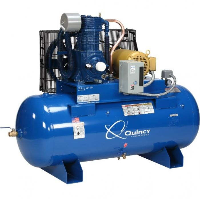 Rural King Air Compressor >> Quincy Qp 10 Pro Series Air Compressor 10 Hp 230v 3 Phase 120 Gallon