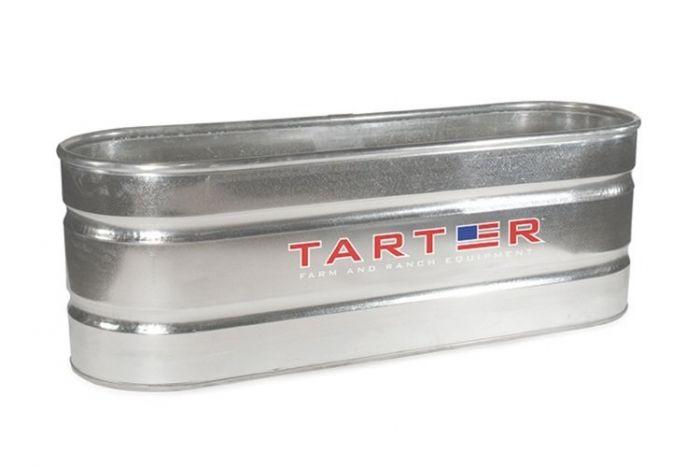 Tarter Oval Galvanized Stock Tank 2 Foot x 2 Foot x 6 Foot WT226