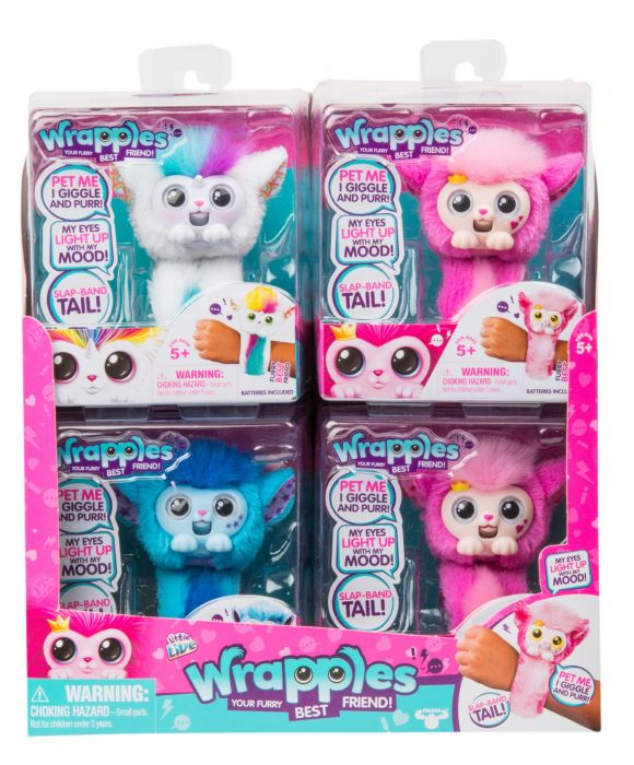 Little Live Pets Wrapples Assorted 28887