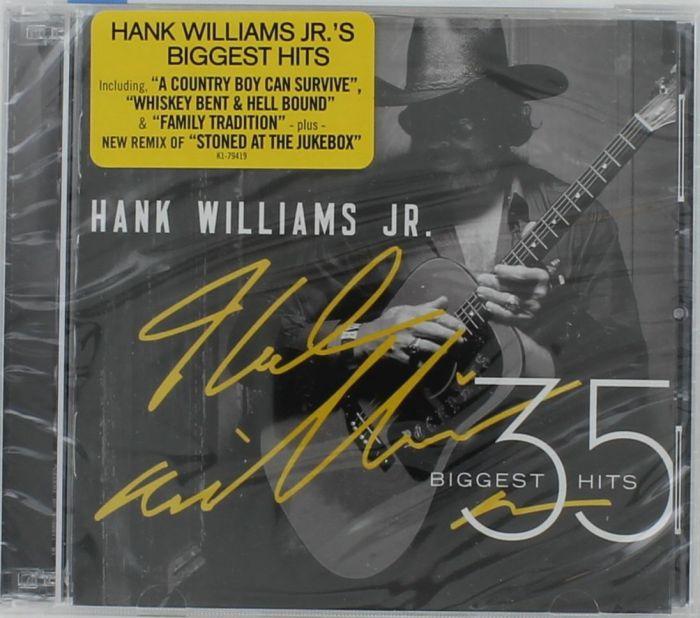 hank williams jr 35 biggest hits cd