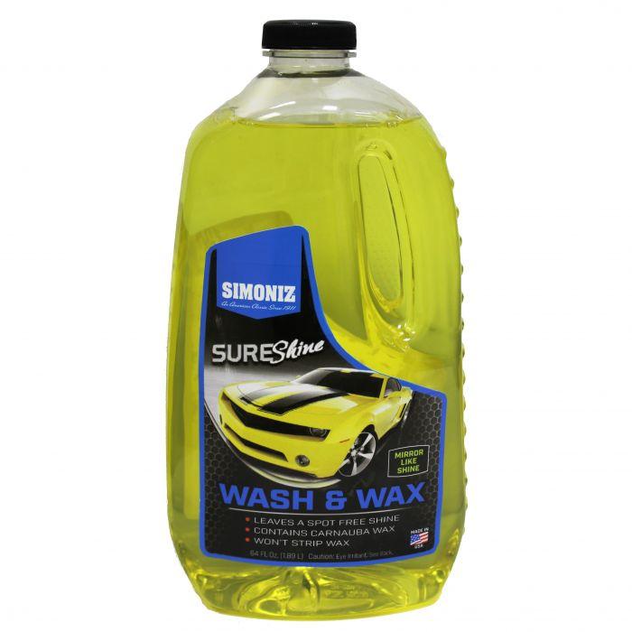 Simoniz Sure Shine 64 Oz Car Wash Wax 01686