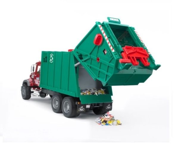 Bruder Mack Granite Rear-loading Garbage Truck 2812