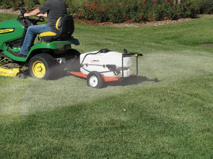 Fimco 25 Gallon lon Lawn and Garden Trailer Sprayer LG-2500-BL 5302182