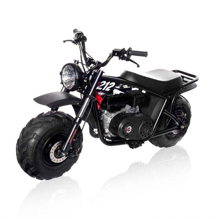 Monster Moto Mega Moto Pro Series 212 CC Adult Mini Bike MM B212 BR