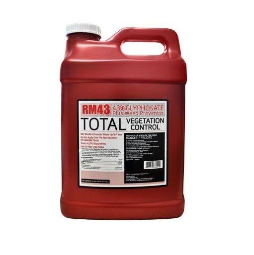 RM43 Glyphosate Total Vegetation Control 2 5 Gallon Jug - 76501N