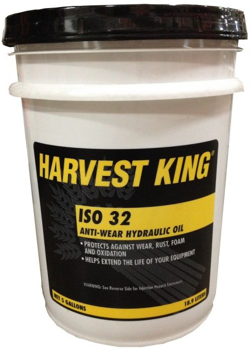 Harvest King ISO 32 Anti Wear Hydraulic Oil 5 Gallons