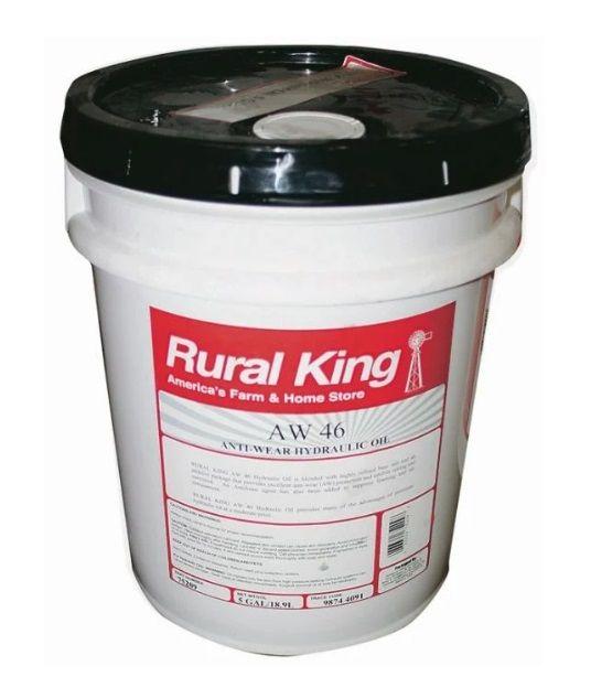 Harvest King Anti Wear Hydraulic Oil AW46 5 Gallon Pail