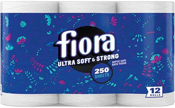 Fiora 12 Rolls Ultra Soft Toilet Paper