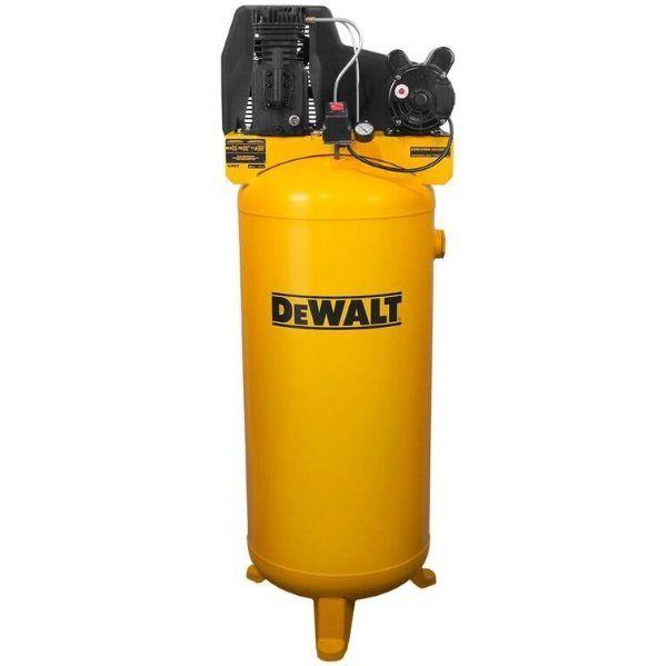 Rural King Air Compressor >> Dewalt 60 Gallon Lon Cast Iron Vertical Air Compressor Dxcmla3706056