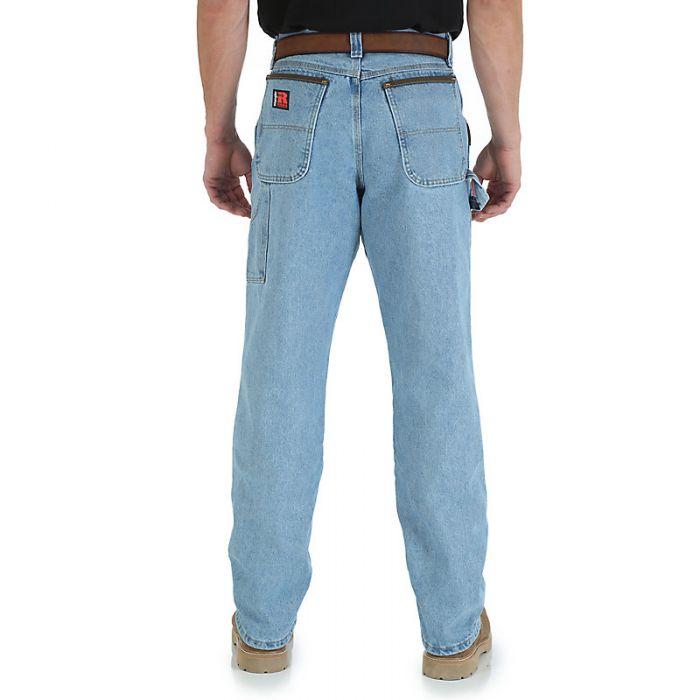 wrangler riggs workwear carpenter jeans vintage indigo 3w020vi