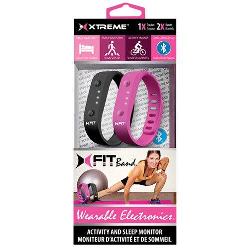 Xtreme Universal XFit Fitness Band Activity & Sleep Monitor Bluetooth 40402
