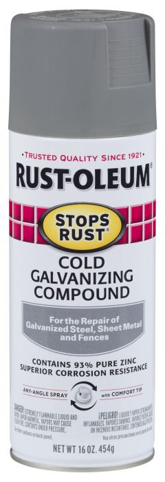 Rust-Oleum Stops Rust Cold Galvanizing Compound Spray - 7785830