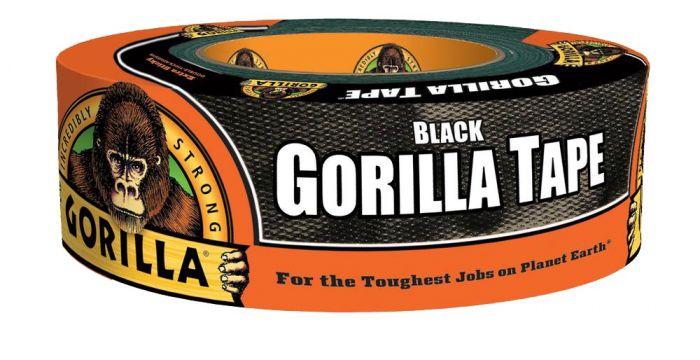 Gorilla Glue 35 yd Roll Black Gorilla Tape - 6003503