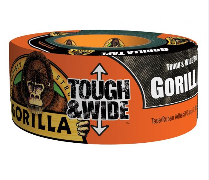 Gorilla Glue Tough and Wide Black Gorilla Tape 6003001
