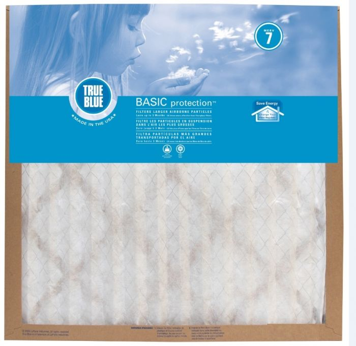 14x14x1 true blue basic air filter 214141
