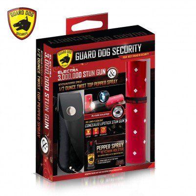 Guard Dog Stun Gun Pepper Spray Combo