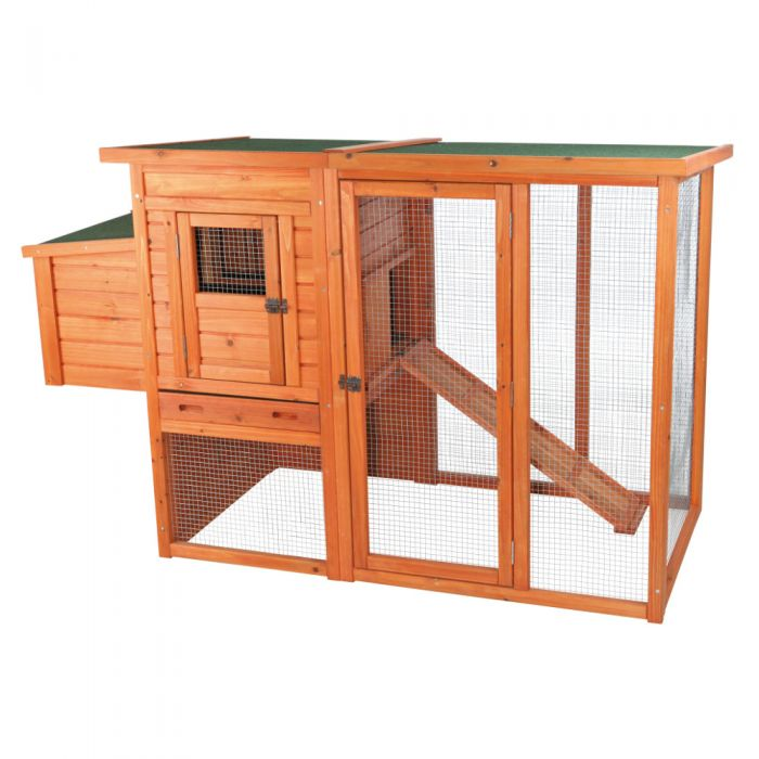 Trixie Pet Chicken Coop With Outdoor Run 55961