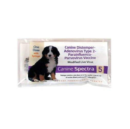 Ivesco 5 Way Protect Canine Spectra 5 Vaccine